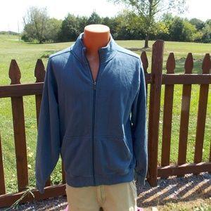 L.L. Bean Mens Full Zip Sweatshirt Jacket Size M